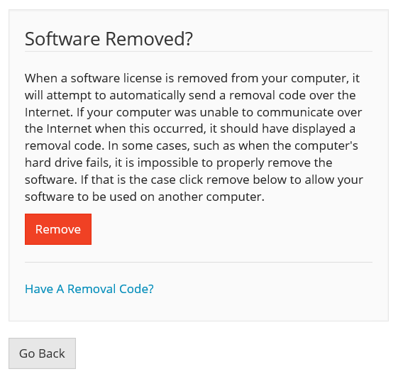 Moving your license to another computer