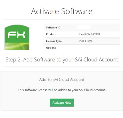 Creating an SAi Cloud account